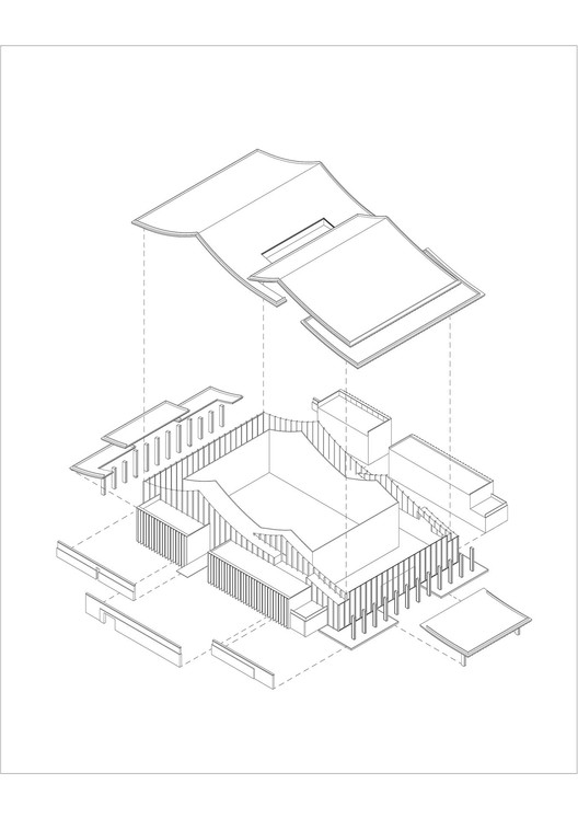 Structure Diagram of Multi-Function Hall