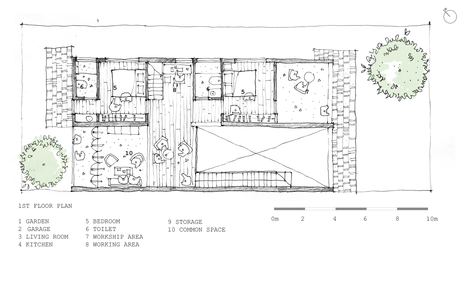 Gallery Of Tile Roof House K59 Atelier 24