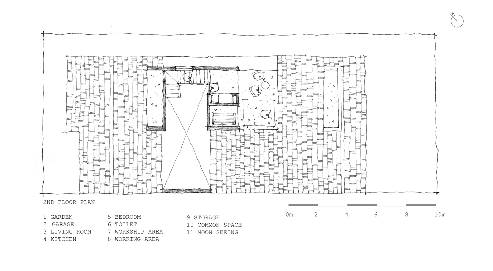 Gallery Of Tile Roof House K59 Atelier 25