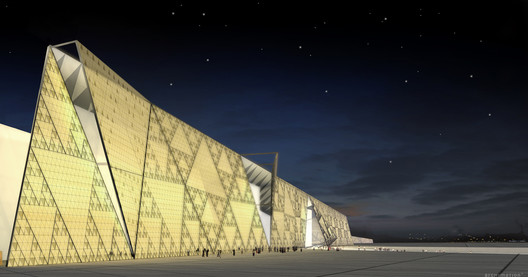 Courtesy of Heneghan Peng Architects . ImageGrand Egyptian Museum / Heneghan Peng Architects