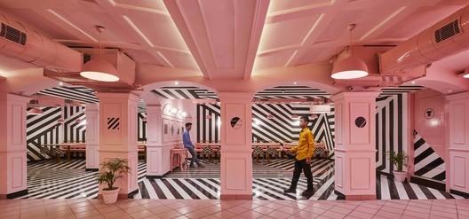 Saurabh Suryan - Lokesh Dang. ImageThe Pink Zebra / Renesa Architecture Design Interiors Studio