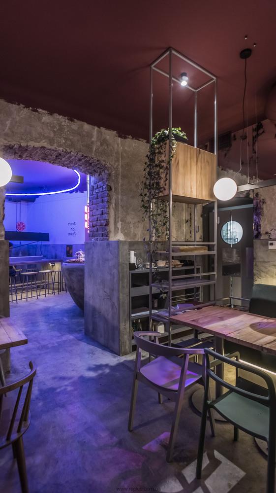 Gallery Of Omnomnom Vegan Cafe Replus Design Bureau 4