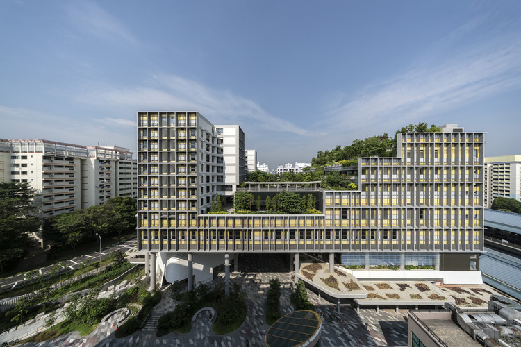 World Architecture Festival Winner Shares Their Experience of the Event, Darren Soh. ImageKampung Admiralty / WOHA