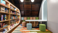 Children's Library at Concourse House / Michael K. Chen Architecture