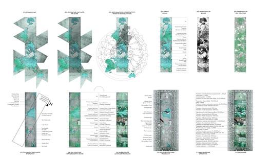 The Geoscraper of the Captive Biomes / Tiago Torres-Campos(Edinburgh, UK). Image © LA+ Iconoclast