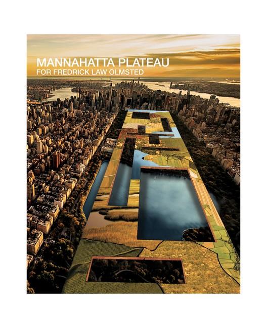 Mannahatta Plateau for Fredrick Law Olmsted / John Beckmann, Hannah LaSota + Laeticia Hervy(Axis Mundi Design – New York, USA). Image © LA+ Iconoclast