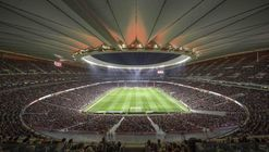 Cruz y Ortiz Architects' Wanda Metropolitano declared the World's Best Stadium