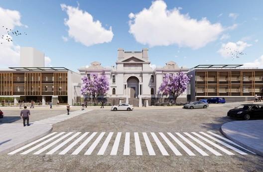Azusa Sekkei Designs Historic Courthouse Expansion for Nihon University