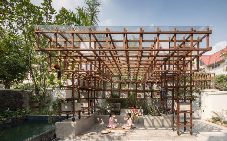 Vac-Library / Farming Architects, © Thai Thach, Viet Dung An
