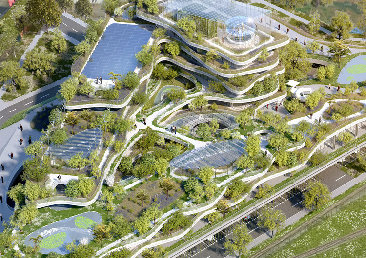 Semaphore: an Ecological Utopia Proposed by Vincent Callebaut, Courtesy of Vincent Callebaut Architectures