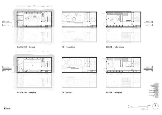 Plans - Basment + First floor plan