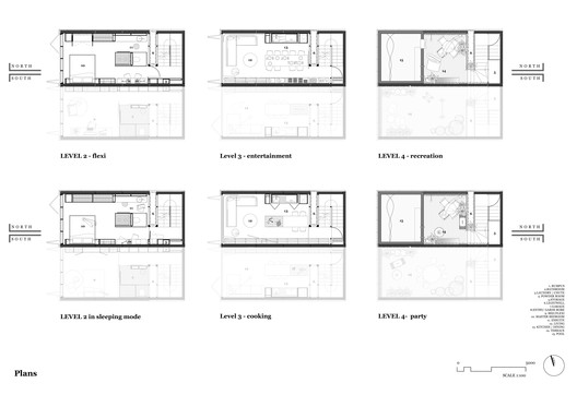 Plans - Second floor plan + Roof plan