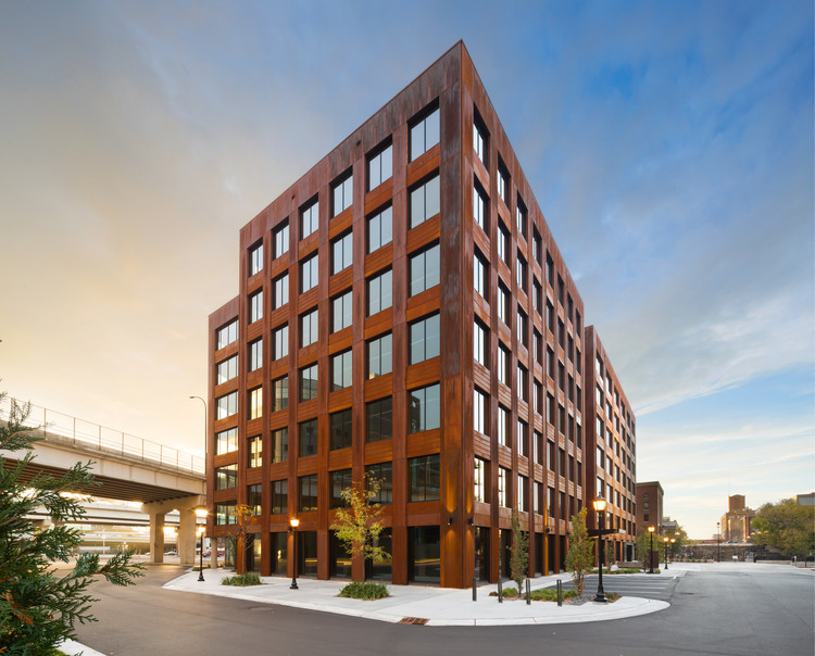 Mass Timber: Shattering the Myth of Code Exceptions , T3 Minneapolis. Image Courtesy of DLR Group