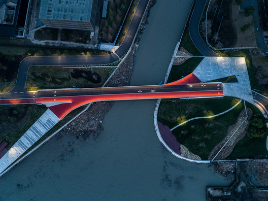 North Sanlin Bridge. Image © Qingshan Wu