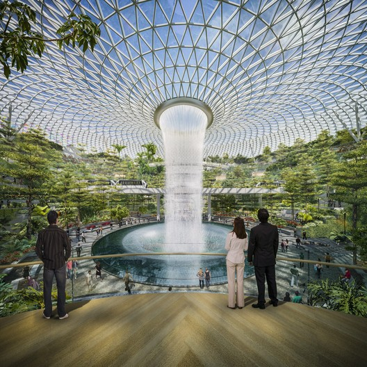 Safdie Architects' Changi Airport Finds Beauty in a Challenging Typology