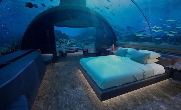 World's First Underwater Hotel to Open in the Maldives , © Conrad Hotels & Resorts