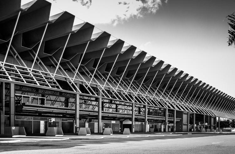 Clássicos da Arquitetura: Terminal rodoviário Rita Maria / Enrique Brena Nadotti e Yamandú Carlevaro, © Ronaldo Azambuja