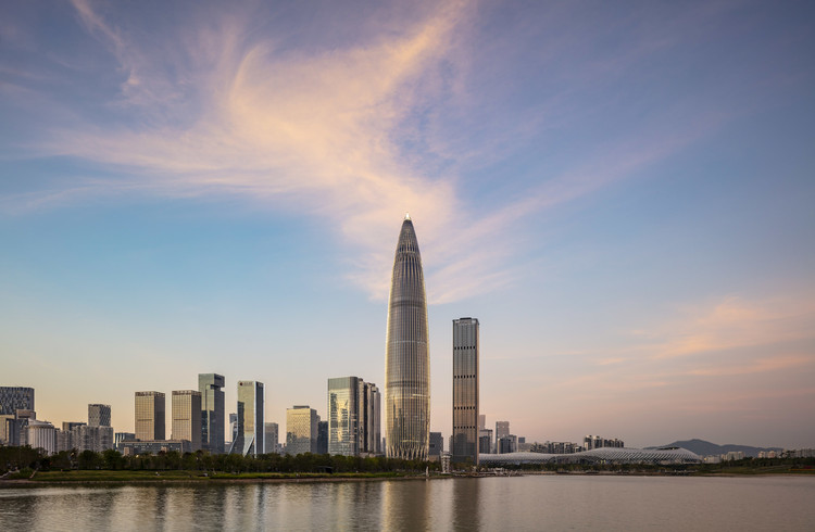 KPF Completes the Third-Tallest Building in Shenzhen , © Tim Griffith