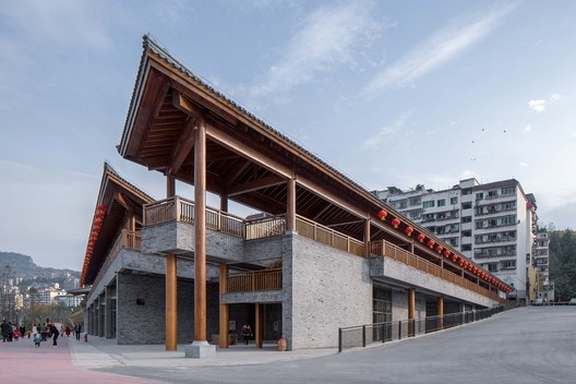 Architecture from the north side. Image © Arch-Exist