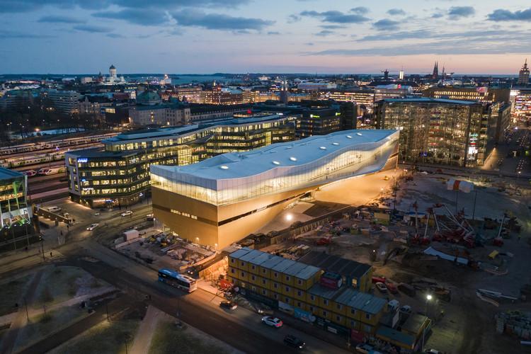 Oodi, Biblioteca central de Helsinki / ALA Architects, © Tuomas Uusheimo