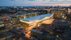 Oodi, Biblioteca central de Helsinki / ALA Architects