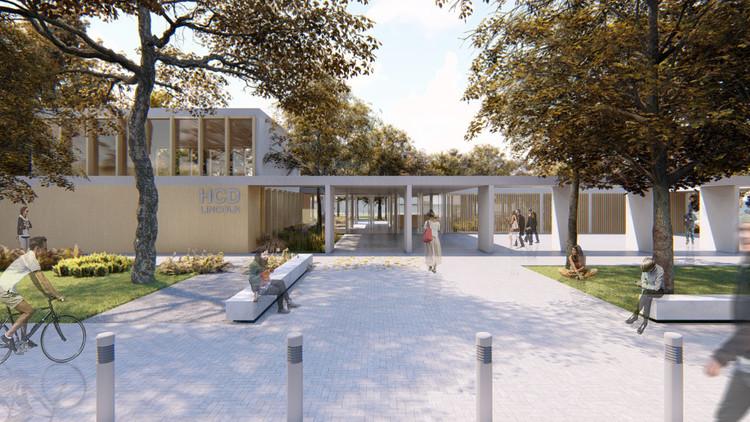 Conoce el proyecto ganador del concurso Nuevo Edificio del Concejo Deliberante de Lincoln, Argentina , Cortesía de Ezequiel Spinelli