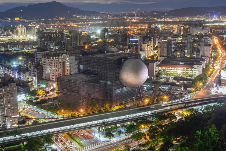 El centro de artes escénicas en Taipei de OMA se acerca a su finalización, © OMA por Chris Stowers