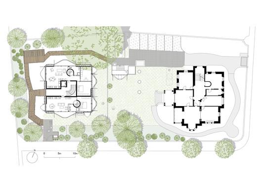 Ground floor plan + Context