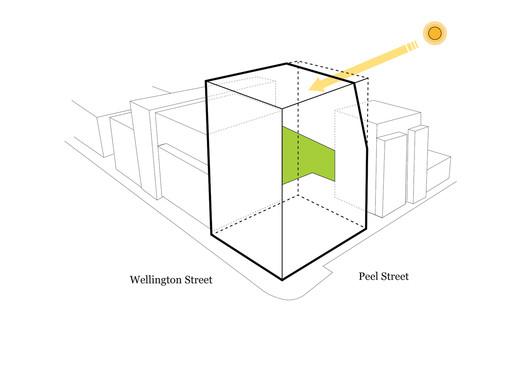 Solar Access Diagram