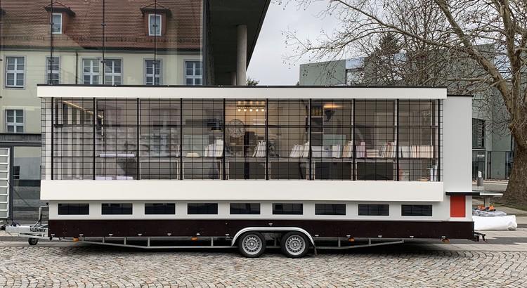 Ônibus da Bauhaus inicia tour global para explorar o legado da escola, © CC-BY SA Tinyhouse University