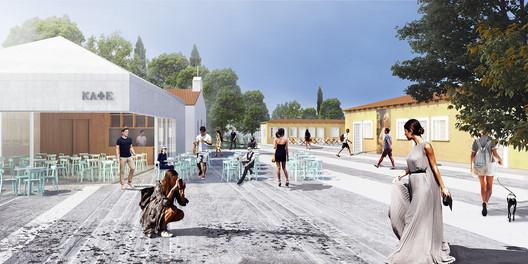 Urban Theater. Image Courtesy of Anagram Architecture & Urbanism