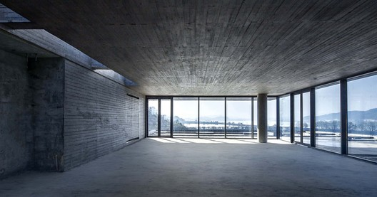 Concrete material is most consistent with the overall design strategy. Image © Yilong Zhao