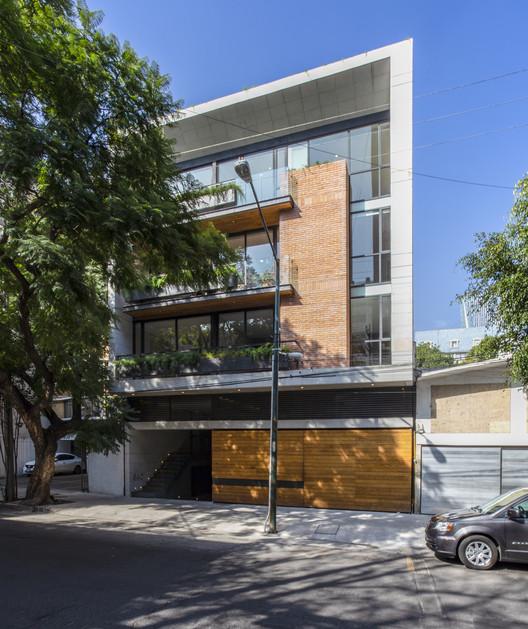 Edificio URBAN SAN FRANCISCO / PDI Diseño + Construcción, © Rodrigo García Cue