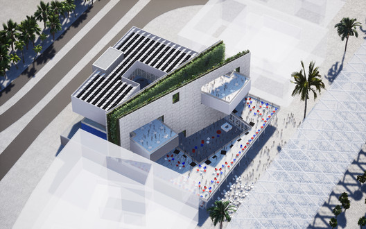 Courtesy of Clément Blanchet Architecture and Etienne Tricaud (AREP)
