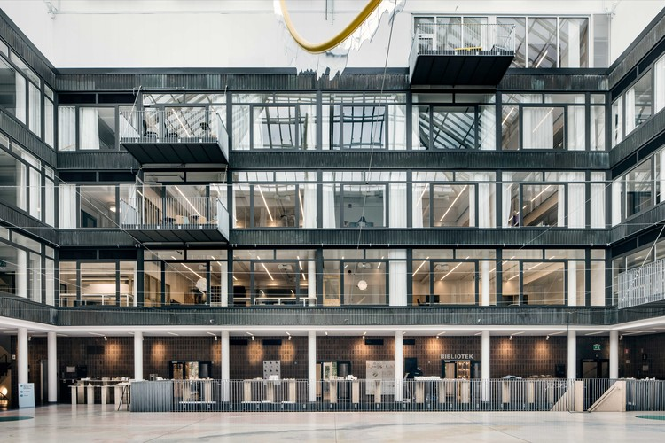 Chalmers Department for Architecture and Civil Engineering / White Arkitekter, © Kalle Sanner