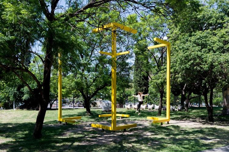 Zona Virtual, la intervención escultórica que aborda el adentro y el afuera en Córdoba, © Gonzalo Viramonte