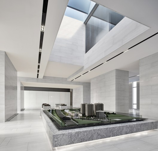 An artistic display area. Image © Jianghe Zeng