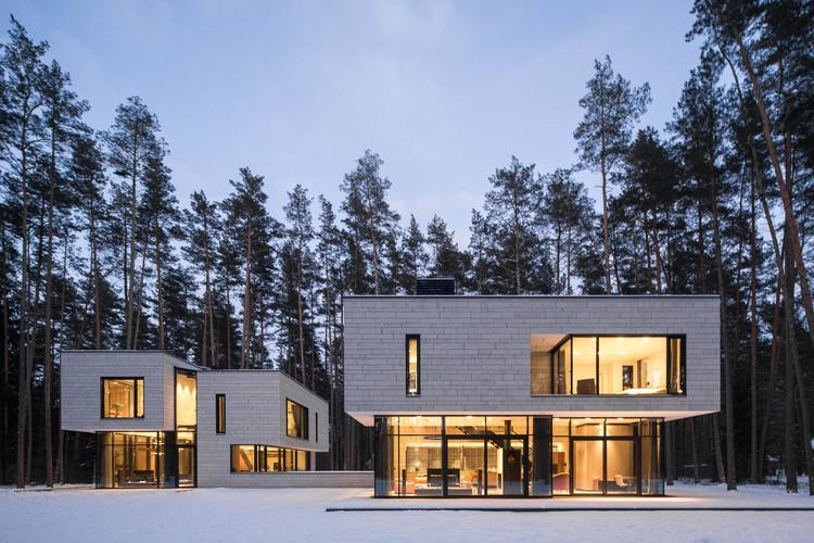 Duplex in Turniškės / Plazma Architecture Studio, © Norbert Tukaj