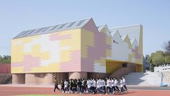 Indoor Playground (Doubling as Lecture Hall) of Yueyang County No.3 Middle School / SUP Atelier