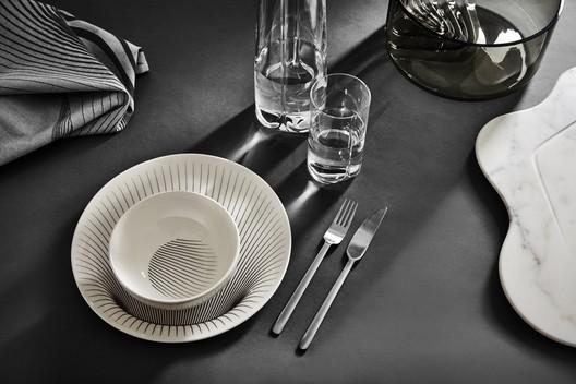Table setting. Image © Zaha Hadid Design