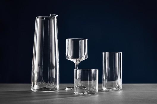 Hew glassware. Image © Zaha Hadid Design