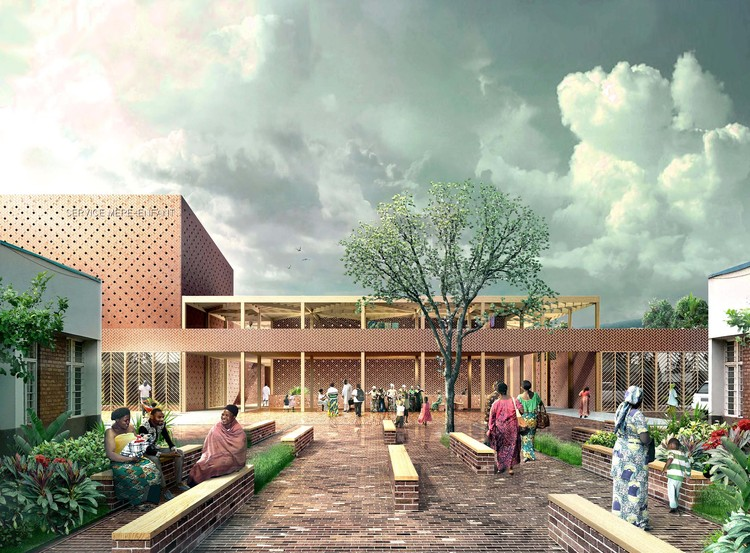 White Arkitekter designs Mother & Baby Hospital Unit in the Democratic Republic of Congo , Courtesy of White Arkitekter