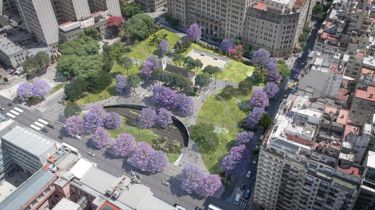 ¿Cómo será el proyecto para la Plaza Houssay en Buenos Aires?, Cortesía de RDR Arquitectos