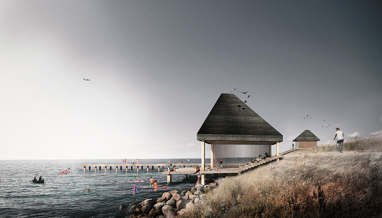 Seven New Landmarks Designed for Copenhagen's Amager Nature Park, Amager Nature Park. Image Courtesy of ADEPT and Møller & Grønborg