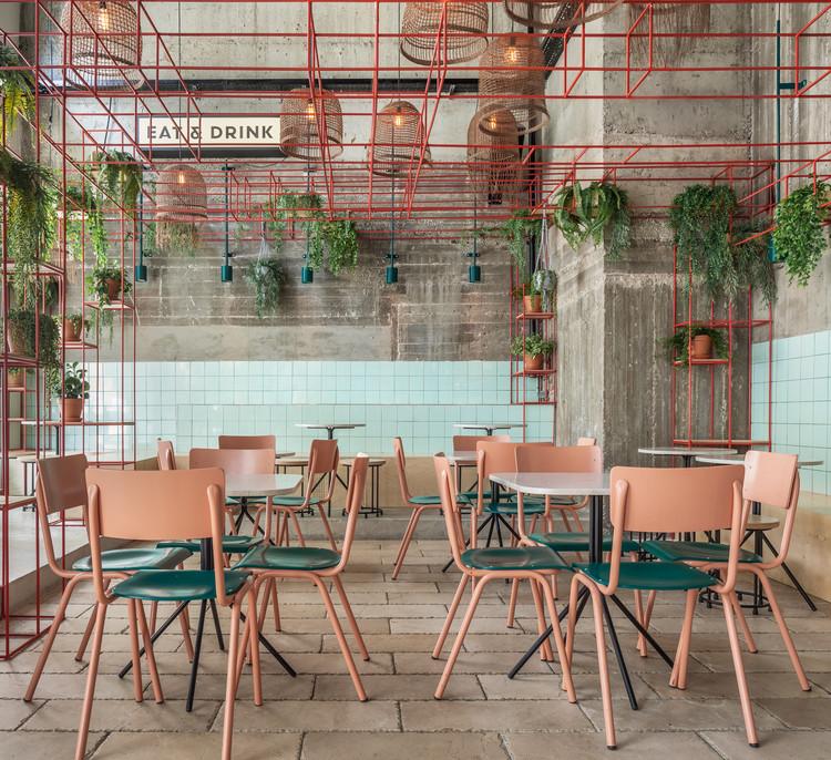 Mar@Co Restaurant / Naomi Szwec + Noa Ben Yehuda, © Ido Adan