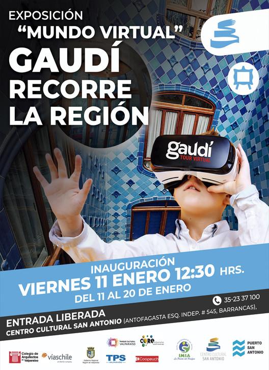 """Gaudí recorre la Región: San Antonio, """"Gaudí en Valparaíso"""""""