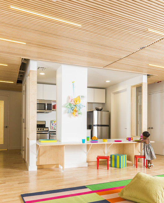 Maple Street School Preschool  / BFDO Architects + 4Mativ Design Studio, © Lesley Unruh