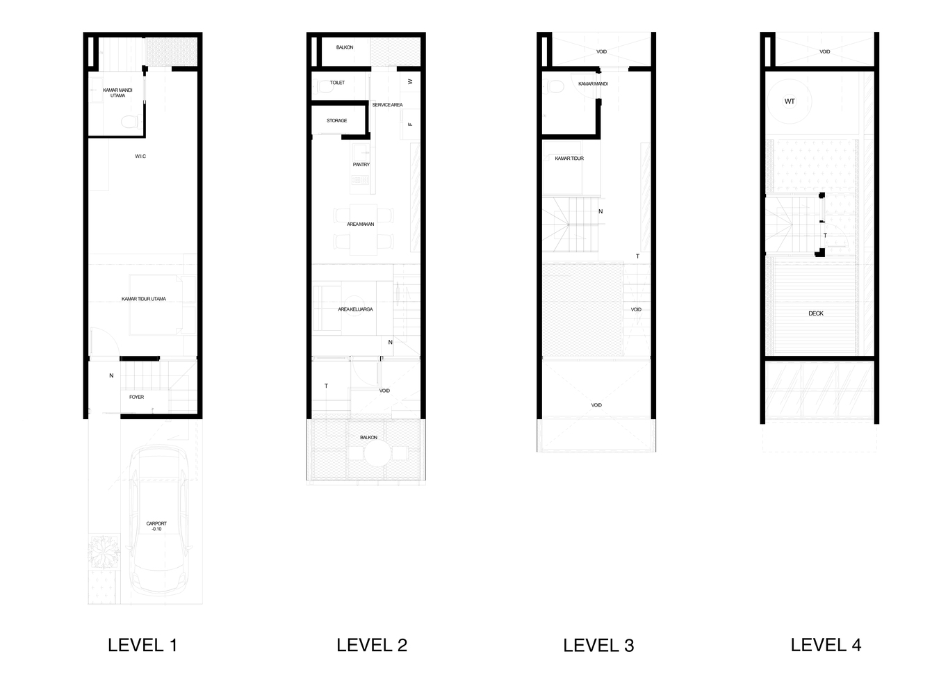 Gallery Of 3500 Millimetre House Ago Architects 24