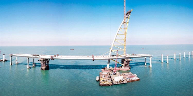 World's Longest Bridge Nears Completion in Kuwait | ArchDaily