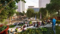 WOHA's Singapore Design Orchard Nears Completion